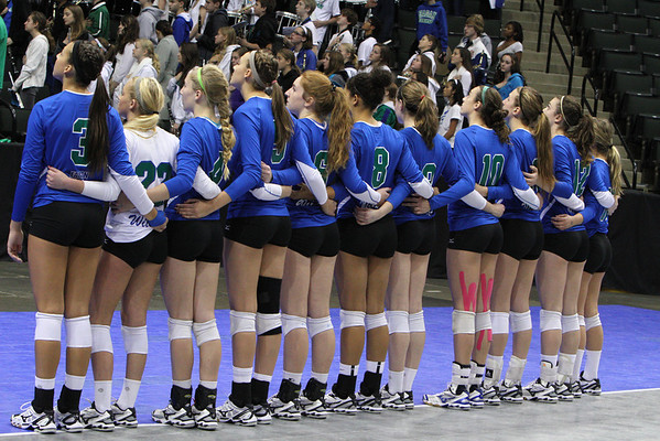 2013 3A STATE VOLLEYBALL MATCHES