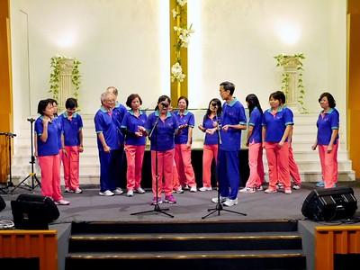 20140502 - 讚美操分區祈禱會