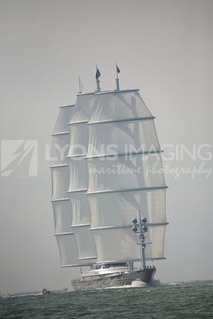 arrival of Maltese Falcon, 9/27/08