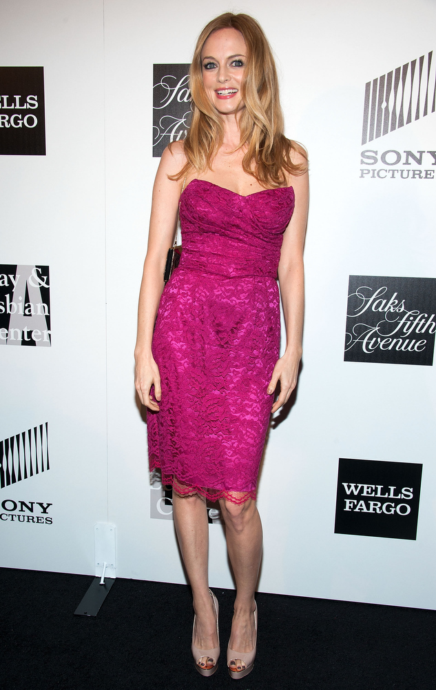 """. Heather Graham arrives at \""""An Evening\"""" Benefiting The L.A. Gay & Lesbian Center at the Beverly Wilshire Four Seasons Hotel on March 21, 2013 in Beverly Hills, California. (Photo by Valerie Macon/Getty Images)"""