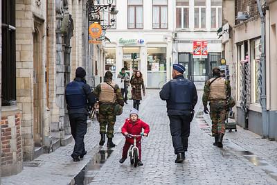 Bruxelles - alert niveau 4 - lockdown 2015
