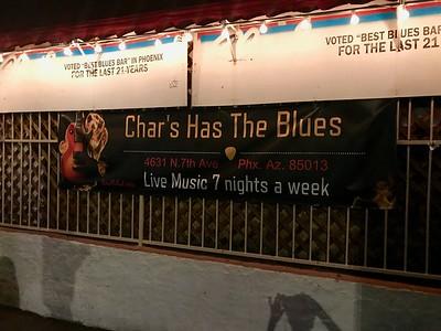 CHAR'S HAS THE BLUES - Phoenix, AZ