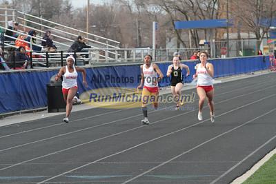 100 Meters - 2013 Oakland vs Detroit Track Meet
