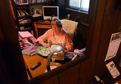 Lafayette's Wanda Hodgson Sews Walker Bags