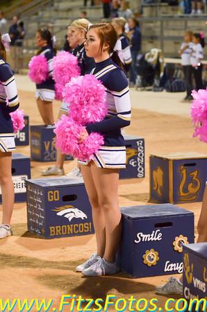 Varsity Cheer vs. TVHS