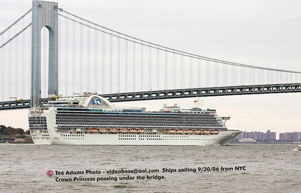 Cruise Ships NYC 9/30/06