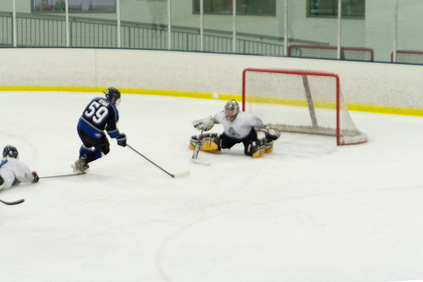 Warminster Glaciers Blue at Hatfield Ice Dogs 16A White 1-5-2014