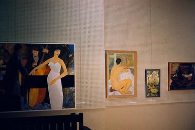 Hope Hepburn & Charles Paintings (Processed in Galway NY Robert Lawrence)