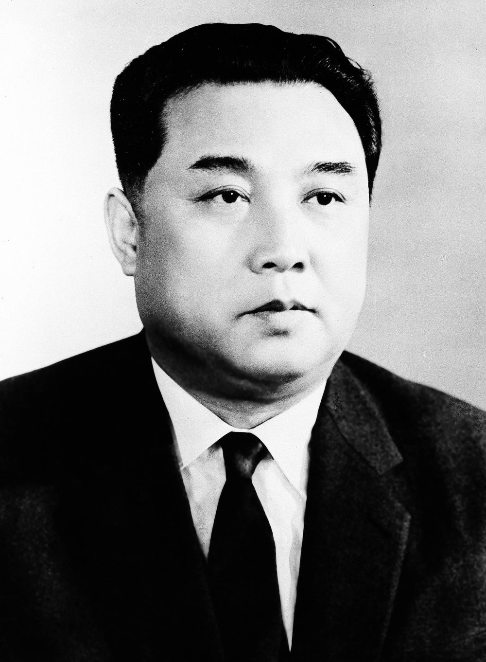 . Kim II Sung, chairman of the Central Committee of the Workers\' Party of Korea and Premier of the cabinet of the D.P.R.K., Apr. 1962. (AP Photo)