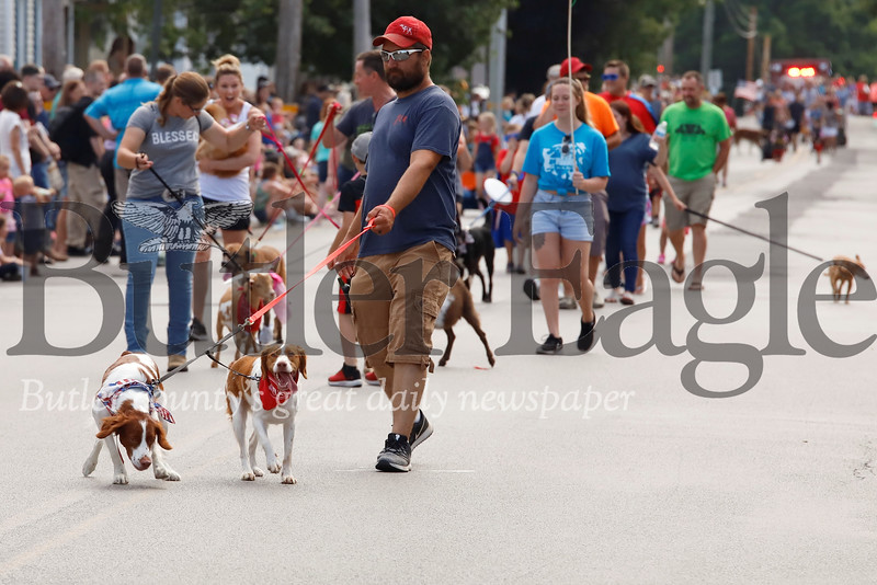Pets of all sorts came out in droves for Tuesday's Pet Parade in Saxonburg. Seb Foltz/Butler Eagle
