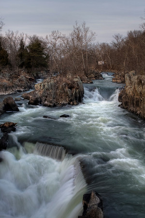 Great Falls at Dusk - Tone maps