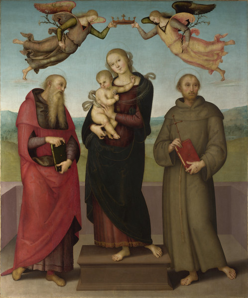 The Virgin and Child with Saints Jerome and Francis