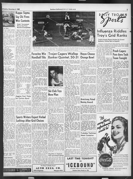 Daily Trojan, Vol. 32, No. 55, December 04, 1940