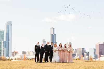 elegant downtown wedding