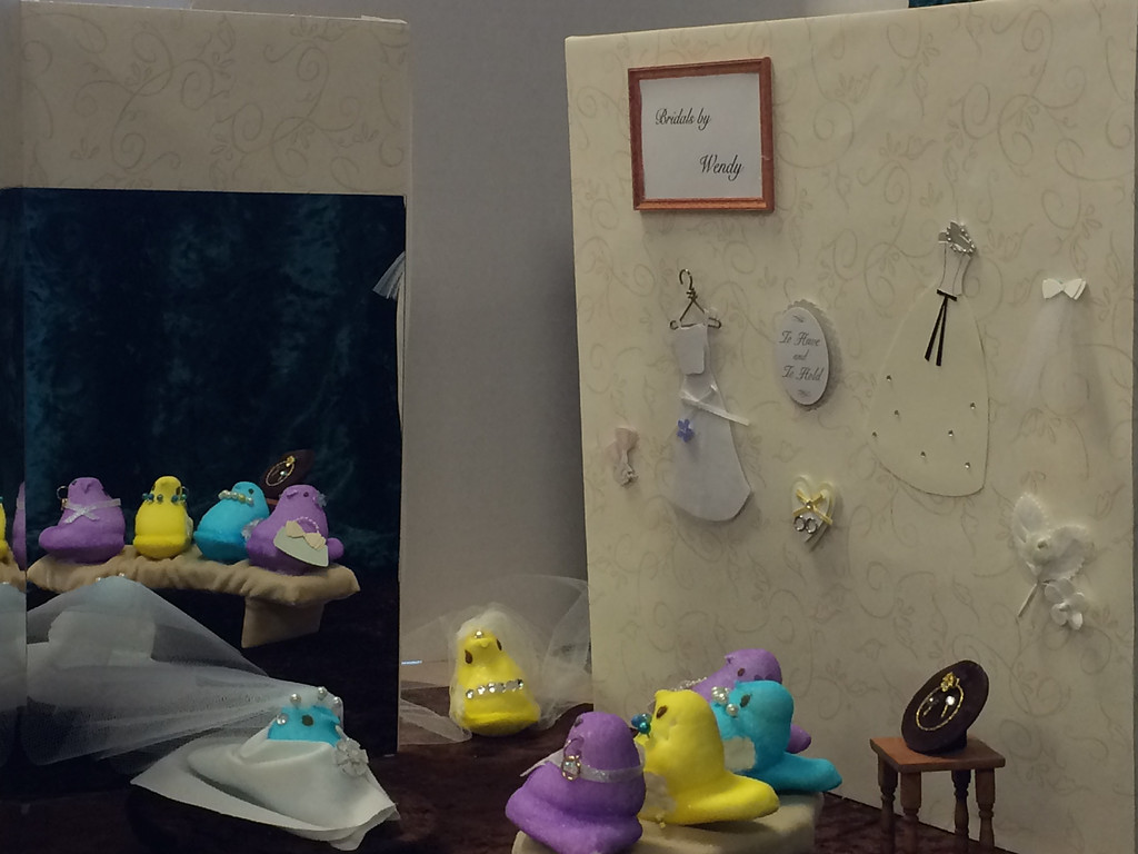 """. Say Yes to the Peeps By: Wendy Holmes and Marjorie Smelt Age: 60s Based on the cable tv show \""""Say Yes to the Dress\"""""""