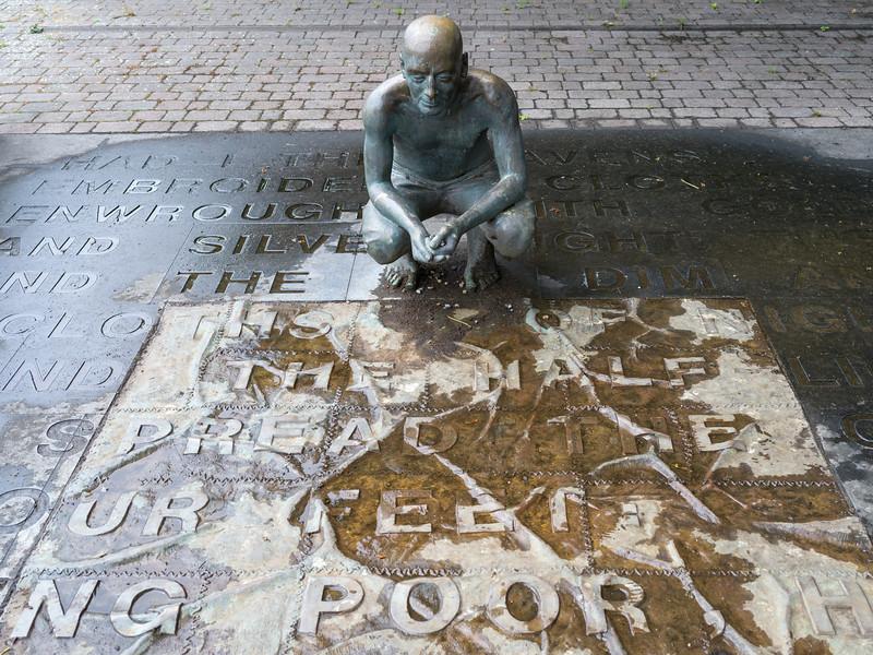 Memorial of William Butler Yeats, Sligo, County Sligo, Ireland