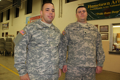 National Guard Deployment, Hometown Armory, SR54 & SR309, Hometown (10-9-2012)