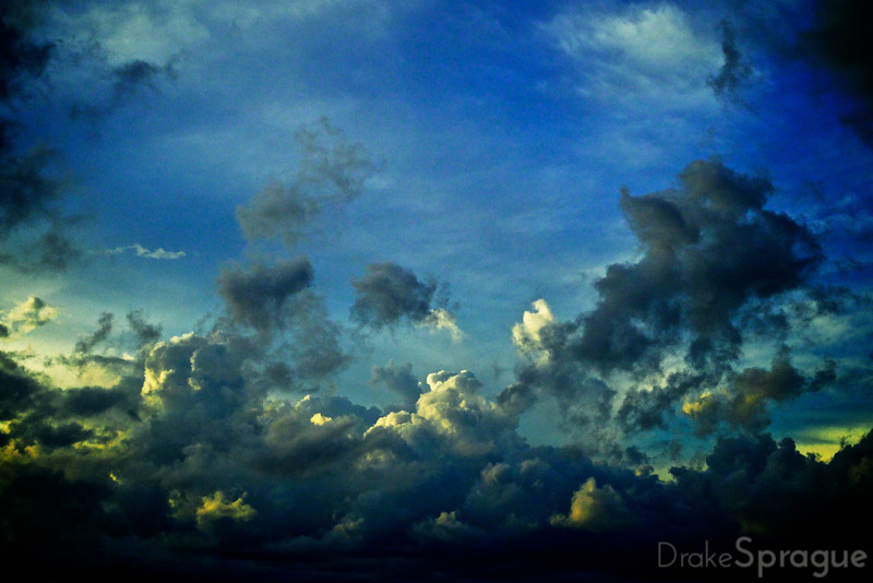 Clouds over the Atlantic - Palm Beach, Florida, USA
