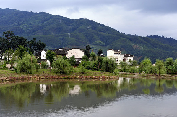 HuangShen ChengKan Town 黄山呈坎八卦村