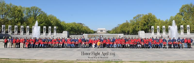 Honor Flight #6 (Apr2015)