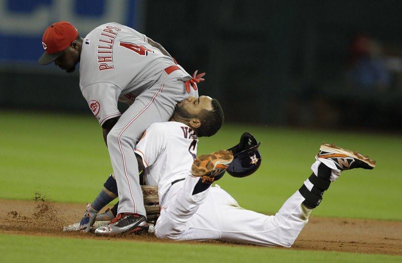. (AP Photo/Houston Chronicle, Melissa Phillip)
