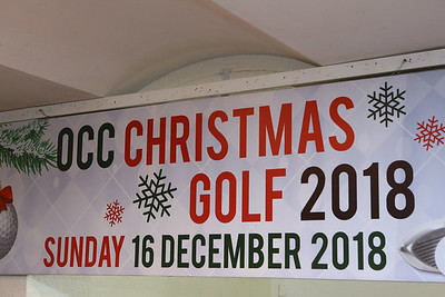 OCC Christmas Golf 2018