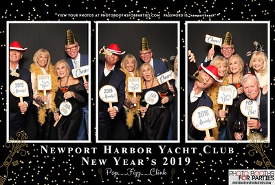 Newport Harbor Yacht Club NYE Party