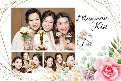ManMan & Kin Wedding 07 Dec 2019