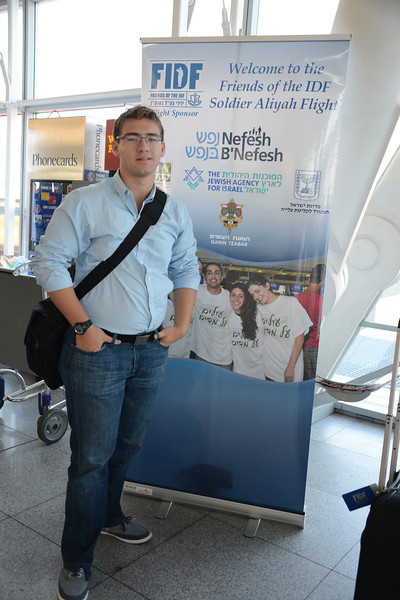 Nefesh B'nefesh Summer Aliyah flight 2012