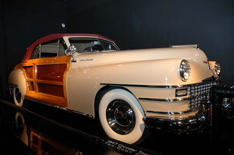 1947 Chrysler Town & Country Convertible 2 Door Coupe.