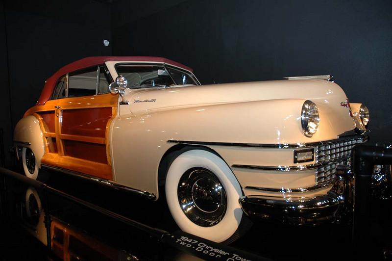 1947 Chrysler Town & Country Convertible 2 Door Coupe.