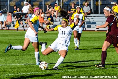Best of UM Women's Soccer Vs CMU 9-7-14