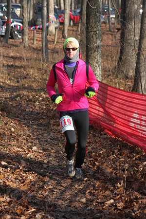 Tecumseh Trail Marathon - Finish