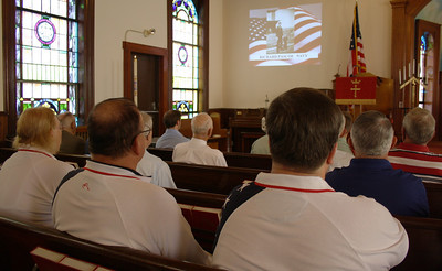 Memorial Day Service, First Congregational Church, Coaldale (5-27-2012)