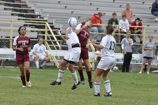 NBHS Lady Lions Soccer vs. Carlynton - 9.12.09