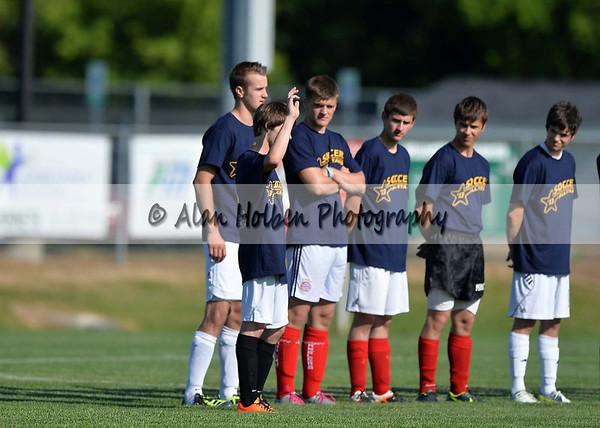 Boys Varsity Soccer - All Star Game - Blue Yellow