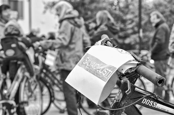 Salvaiciclisti - flash mob 11 ottobre 2013