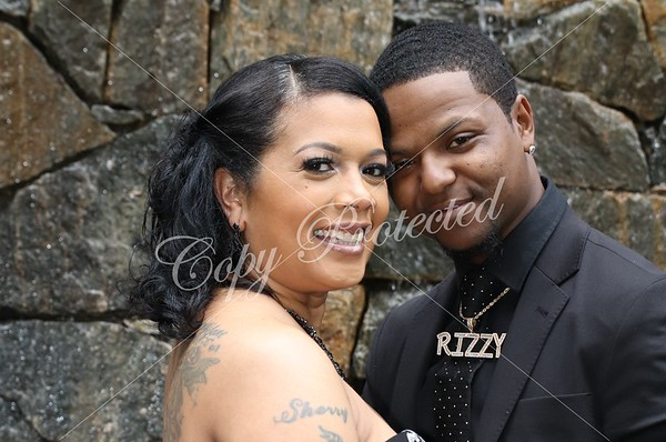 Caprice and Rell Wedding