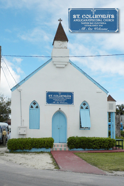 St. Columba's Church in Tarpum Bay, Eleuthera