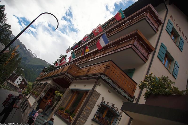 Alpenblick Hotel in Zermatt