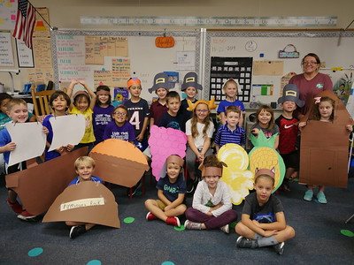 Thanksgiving play - Mrs. William's class