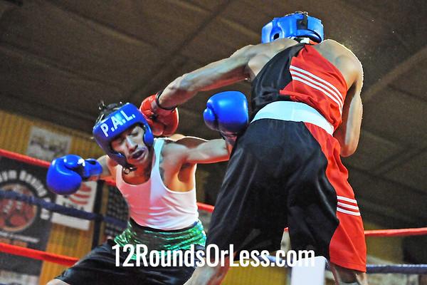 Bout 7 Thomas Mattice, Glenville BC -vs- Ramiro Hernandez, Empire BC/Zelma George-141 lbs, Open