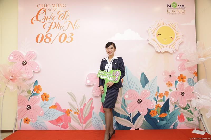 Novaland Group | CMT8 Office Women's Day March 8 instant print photo booth | Chụp hình lấy liền Quốc tế Phụ Nữ 8 Tháng 3 | Photobooth Saigon