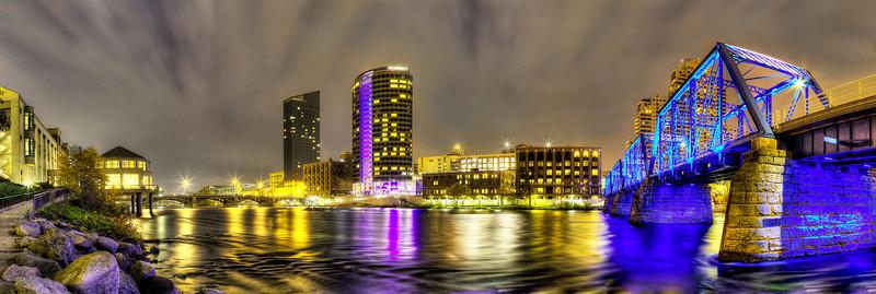 Grand River Night