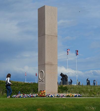 Utah Beach, Normandy, France - D-Day 75 - June 6, 2019