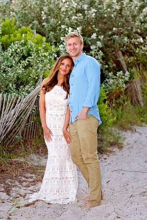 Carly Jay Beach Engagement 2016