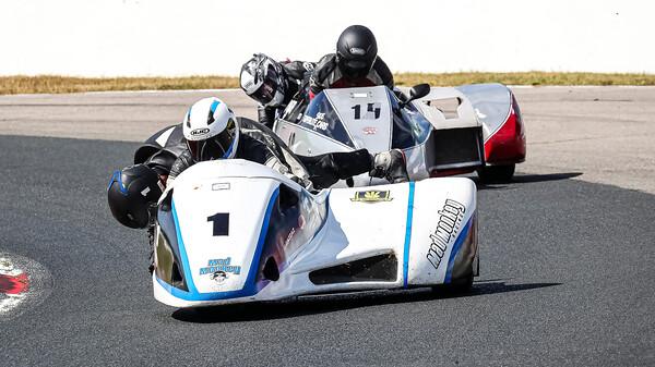 2019 VRRA Sidecars Races 1 & 14