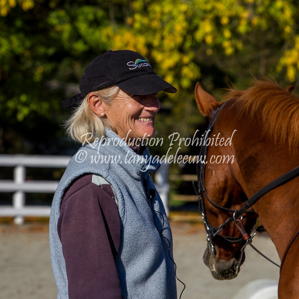 Lucinda Green Eventing Clinic - MREC, October 2017