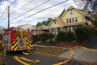 Leonia Basement Fire 11-19-17