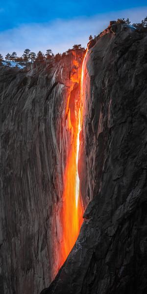Yosemite Firefall Horsetail Fall